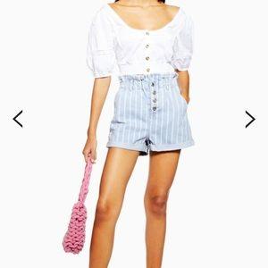 Demon paperbag shorts NEVER WORN